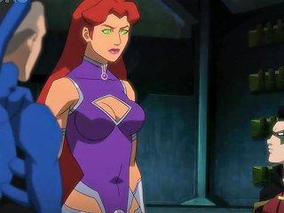 Justice League Vs Teen Titans 2016 Starfire