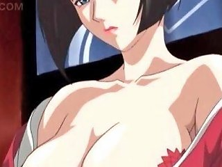 Splendid Hentai Babe Sucking And Jumping Big Shaft