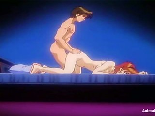 Anime  Gives A  And Gets Fucked Doggy Style