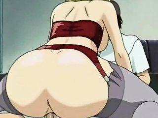 Bounching Tits Hentai Teacher Tittyfucking And Riding Dick Drtuber