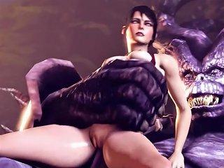 Sfm Compilation Monsters Fucking Horny Girls